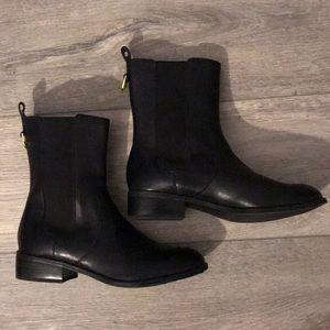 Ralph Lauren Mona Leather Boots